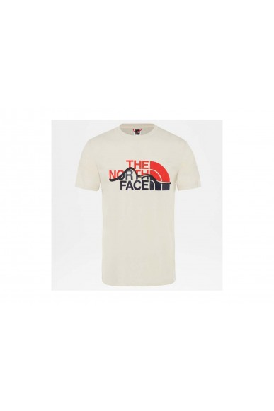 The north face T-shirt   Mount line tee Uomo Bianco Streetwear