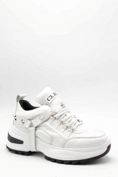 Cult Sneakers   Young 3080 low w leather/veg.patent Donna Bianco Fashion