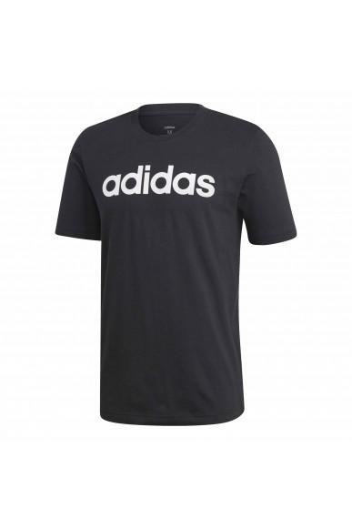 Adidas T-shirt   E lin tee           black/white Uomo Nero Sportivo
