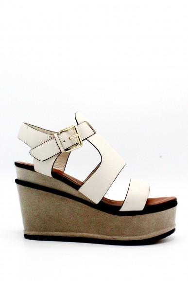 Elvio zanon Sandali F.gomma 36/41 f0801g Donna Avorio-sabbia Fashion