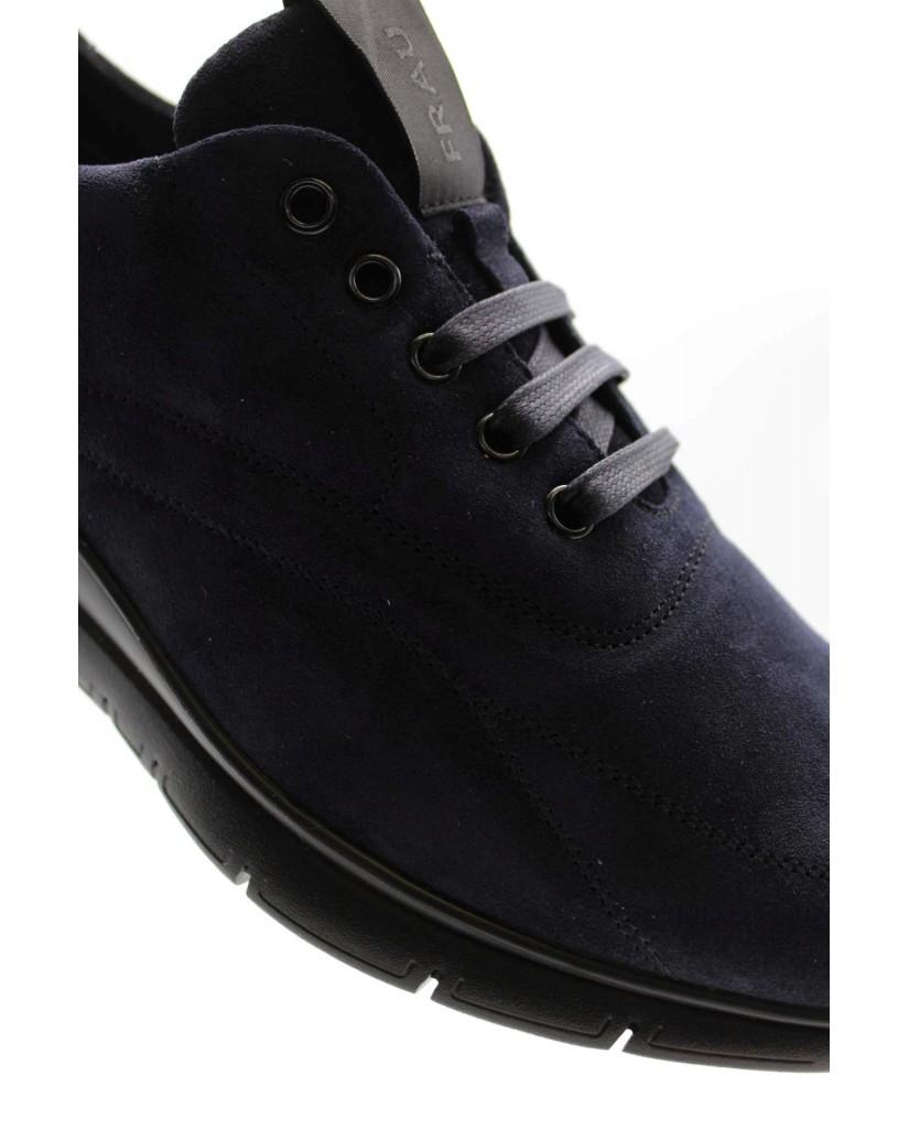 Frau Sneakers F.gomma Waxy Uomo Blu Casual