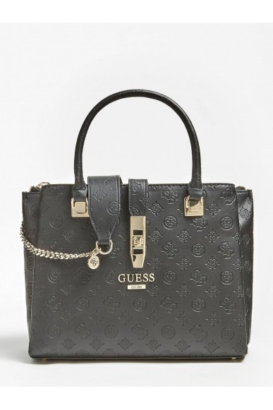 Guess Borse   Peony classic grlfrnd carryall Donna Nero Fashion