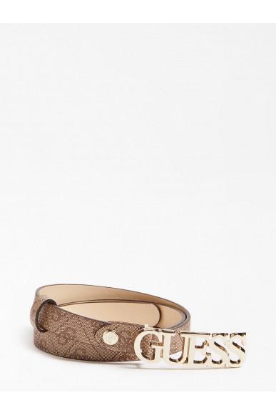 Guess Cinture   Bluebelle adjustable belt Donna Marrone Fashion