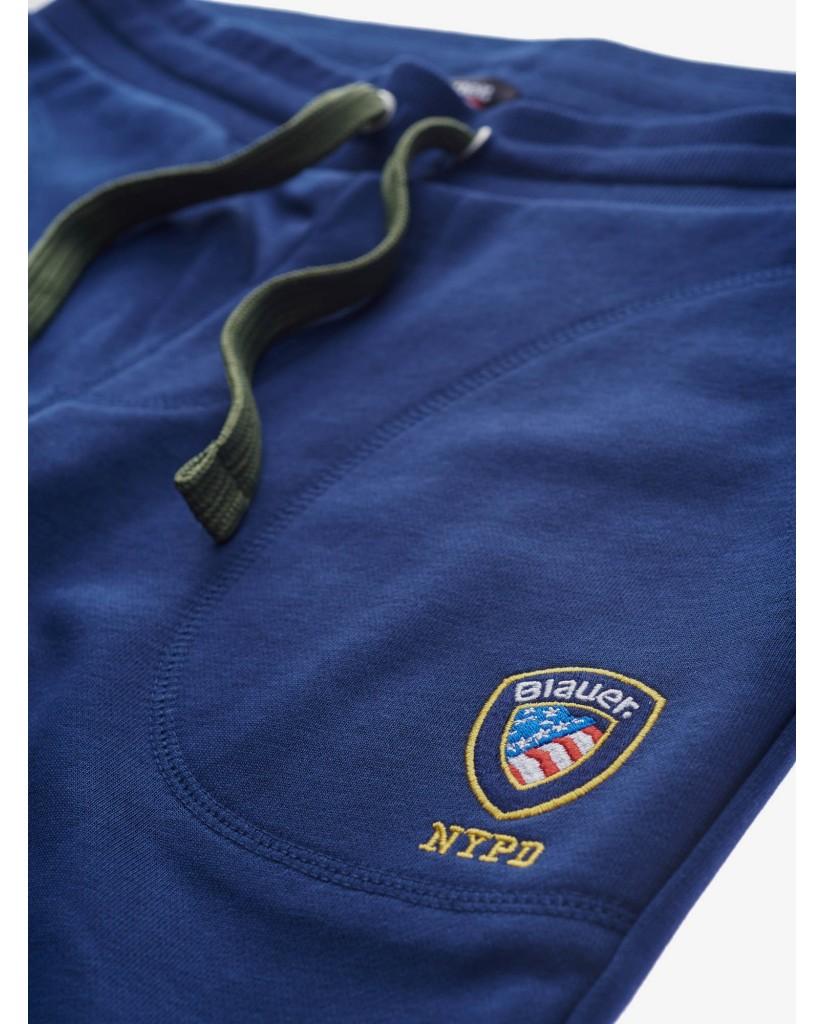 Blauer Pantaloni   Felpa pantalone Uomo Blu Fashion