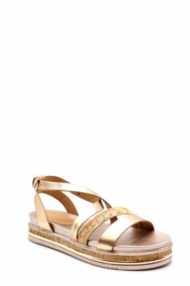 1^classe  Sandali F.gomma N0215 Donna Oro Fashion