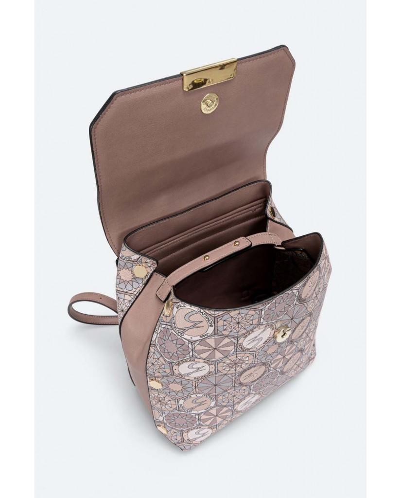 Gattinoni Backpacks   Teodosia backpack w/flap pvc / pu p Donna Multi     Fashion