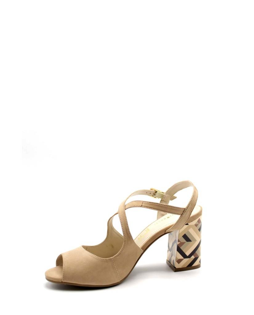 Capelli rossi Sandali F.gomma 8772-203-429 Donna Taupe Fashion