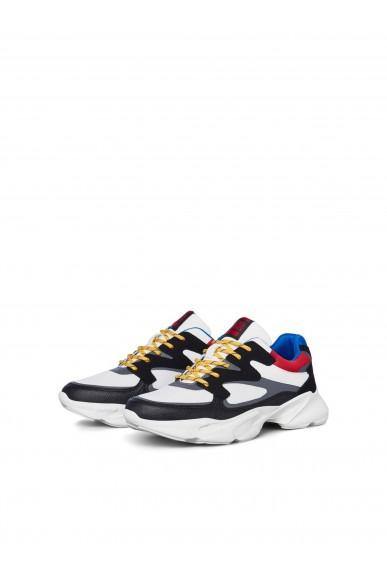 Jackejones Sneakers   Jfwjinx combo anthracite/multi noos Uomo Grigio Fashion