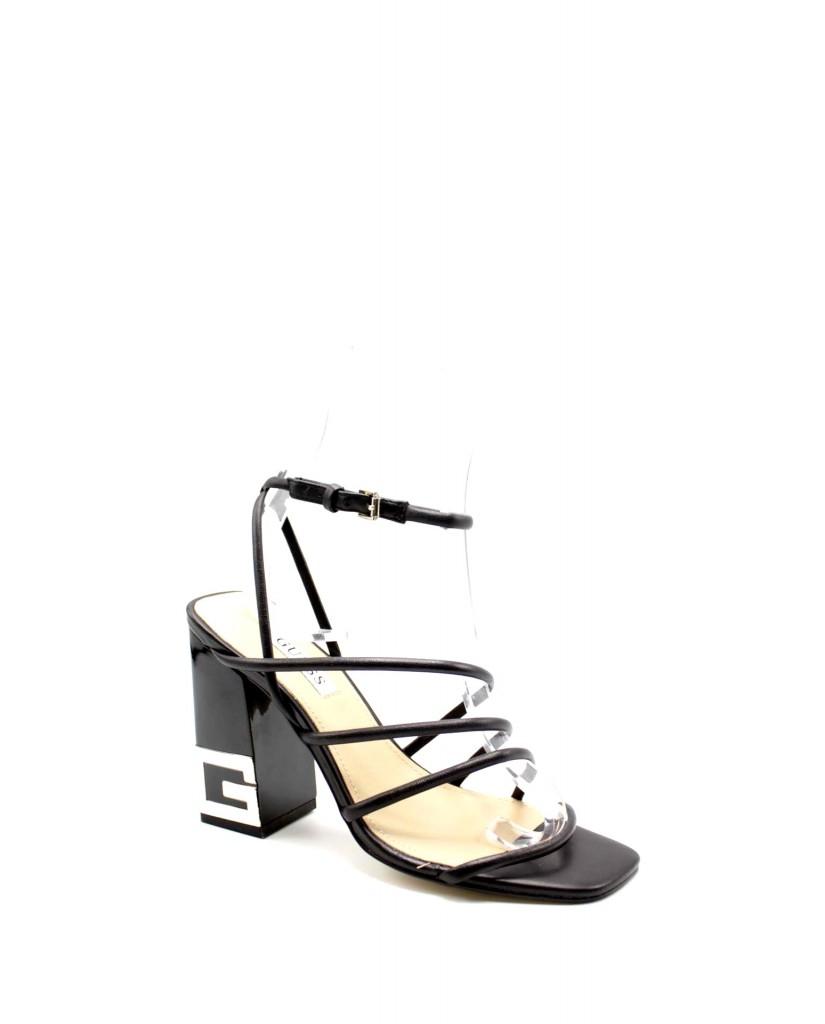 Guess Sandali F.gomma Tacey/sandalo (sandal)/leather Donna Nero Fashion