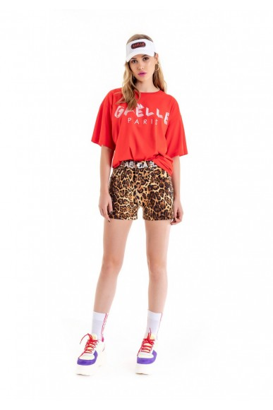 Gaelle paris Shorts   Shorts Donna Animalier Fashion