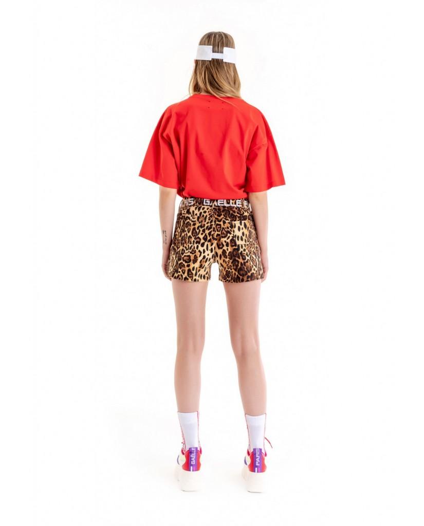Gaelle paris Shorts   Shorts Donna Animalier Fashion