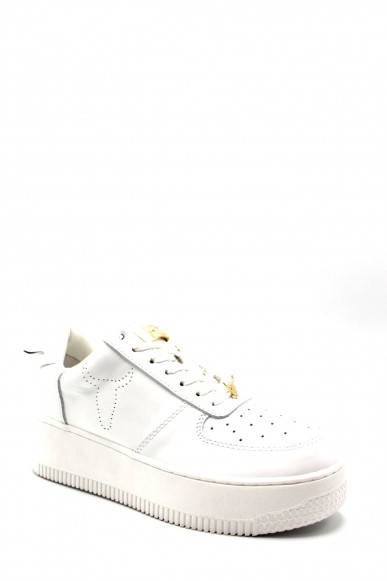 Windsor smith Sneakers   Racerr leather white Donna Bianco Fashion