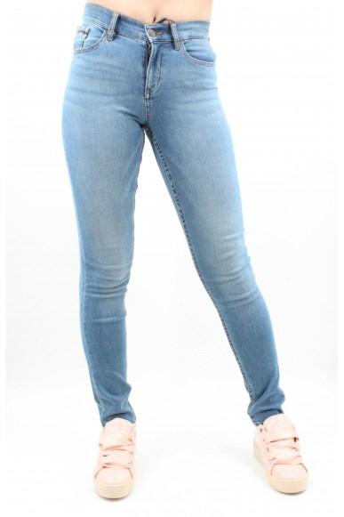 Calvin klein Pantaloni Donna Blu Casual