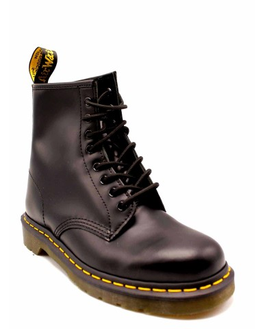 Dr. martens Stivali F.gomma 1460 smooth black 8 eye z welt Unisex Nero Fashion