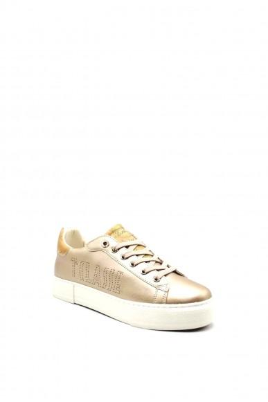 1^classe  Sneakers F.gomma 0878 Donna Cipria Fashion