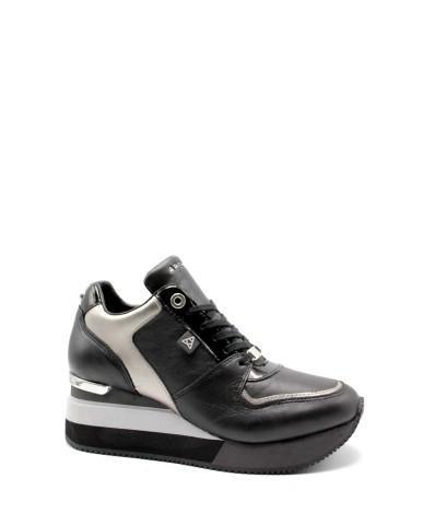 Apepazza Sneakers F.gomma Hylda Donna Nero Fashion