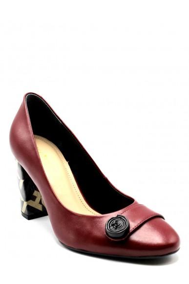 Capelli rossi Decollete F.gomma 36-40 Donna Rosso Fashion