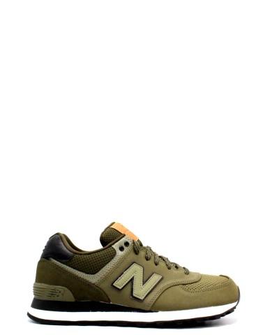 New balance Sneakers F.gomma 39-46 ml 574 Uomo Verde Sportivo