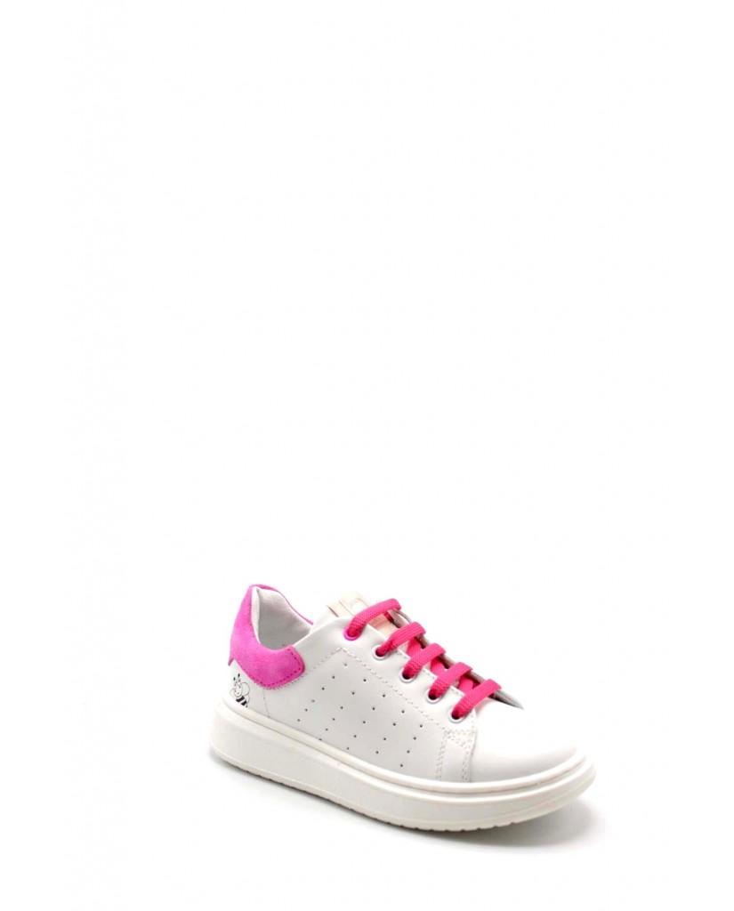 Balducci Sneakers F.gomma 27/34 stan 1002 Bambino Bianco-fuxia Fashion