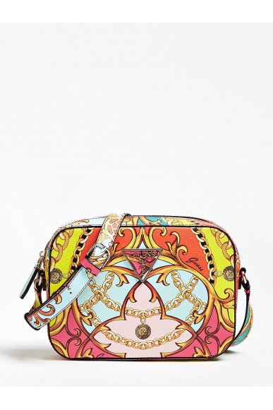 Guess Tracolle   Kamryn crossbody top zip Donna Multicolor Fashion