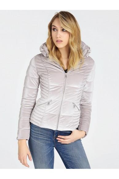 Guess Giubbotti   Teoma jacket Donna Grigio Fashion