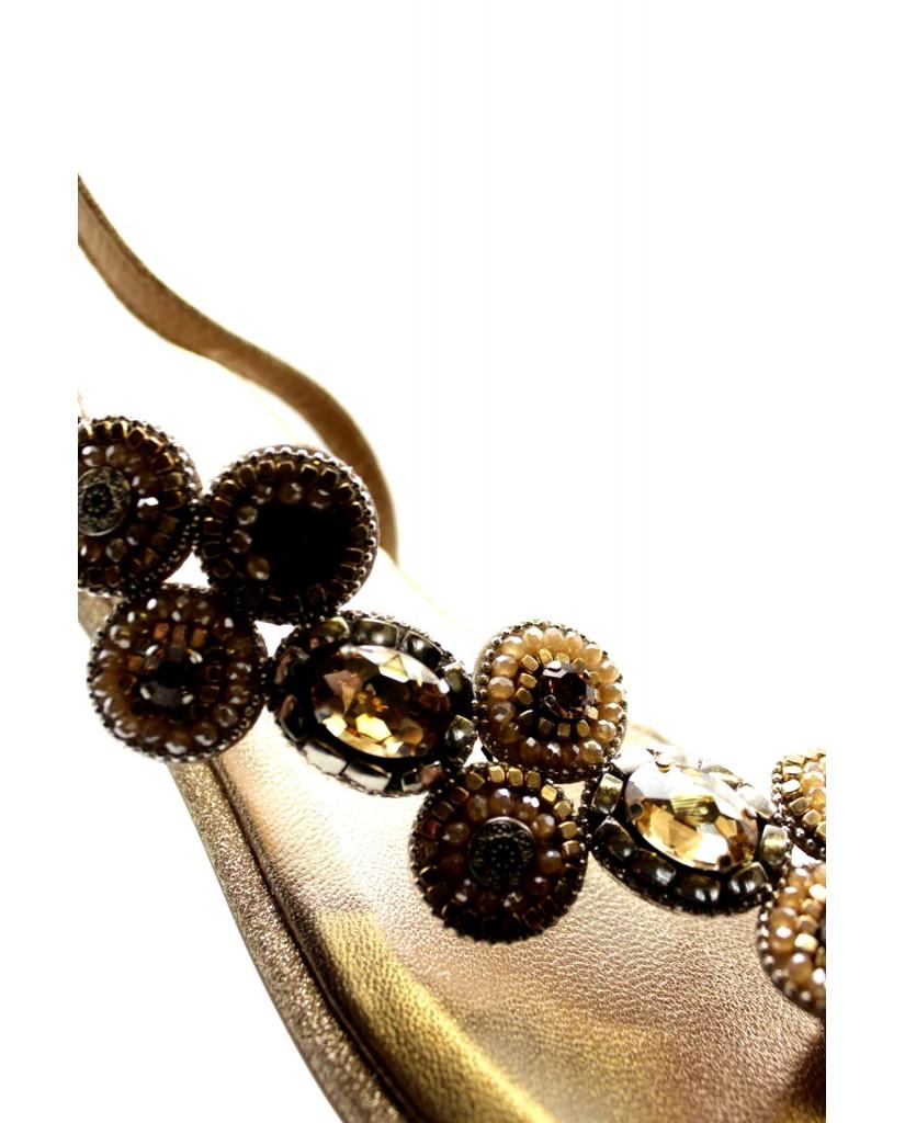 Alma en pena Sandali F.gomma Donna Beige Fashion