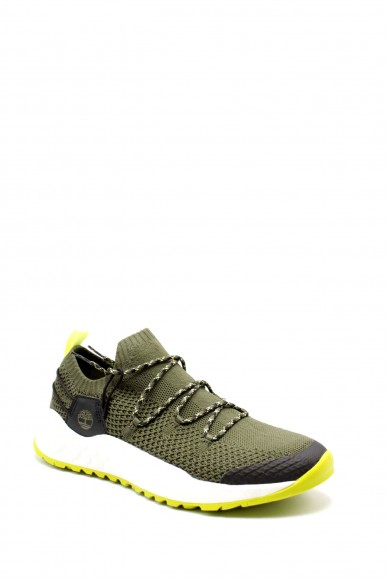 Timberland Sneakers F.gomma Solar wave low knit Uomo Verde Fashion