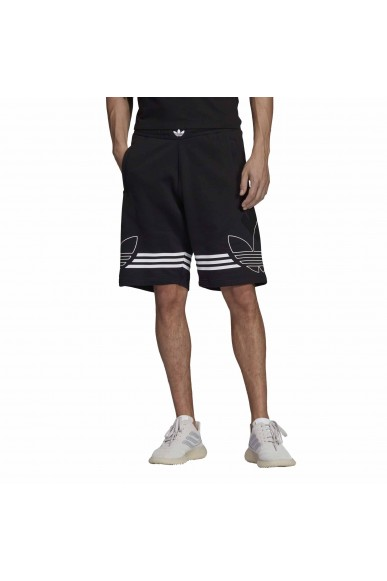 Adidas Shorts   Outline short       black Uomo Nero Sportivo