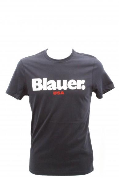 Blauer T-shirt   T-shirt manica corta Uomo Blu Fashion