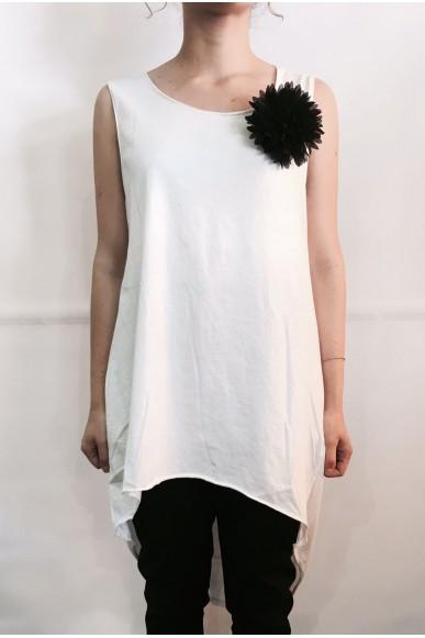 Berna Canottiere S-m Donna Bianco Fashion