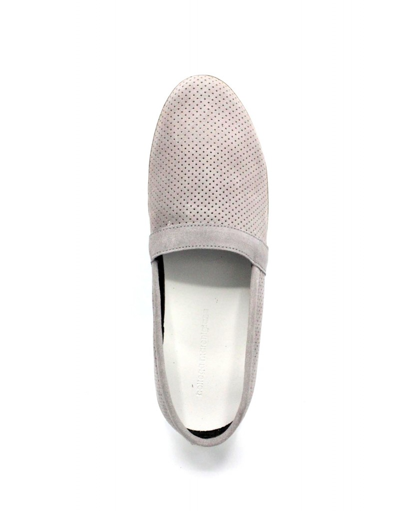 Bottega marchigiana Slip-on F.gomma 40/45 sbm14 made in italy Uomo Grigio Fashion