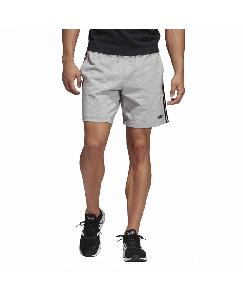 Adidas Shorts   E 3s shrt sj        mgreyh/black Uomo Grigio Sportivo