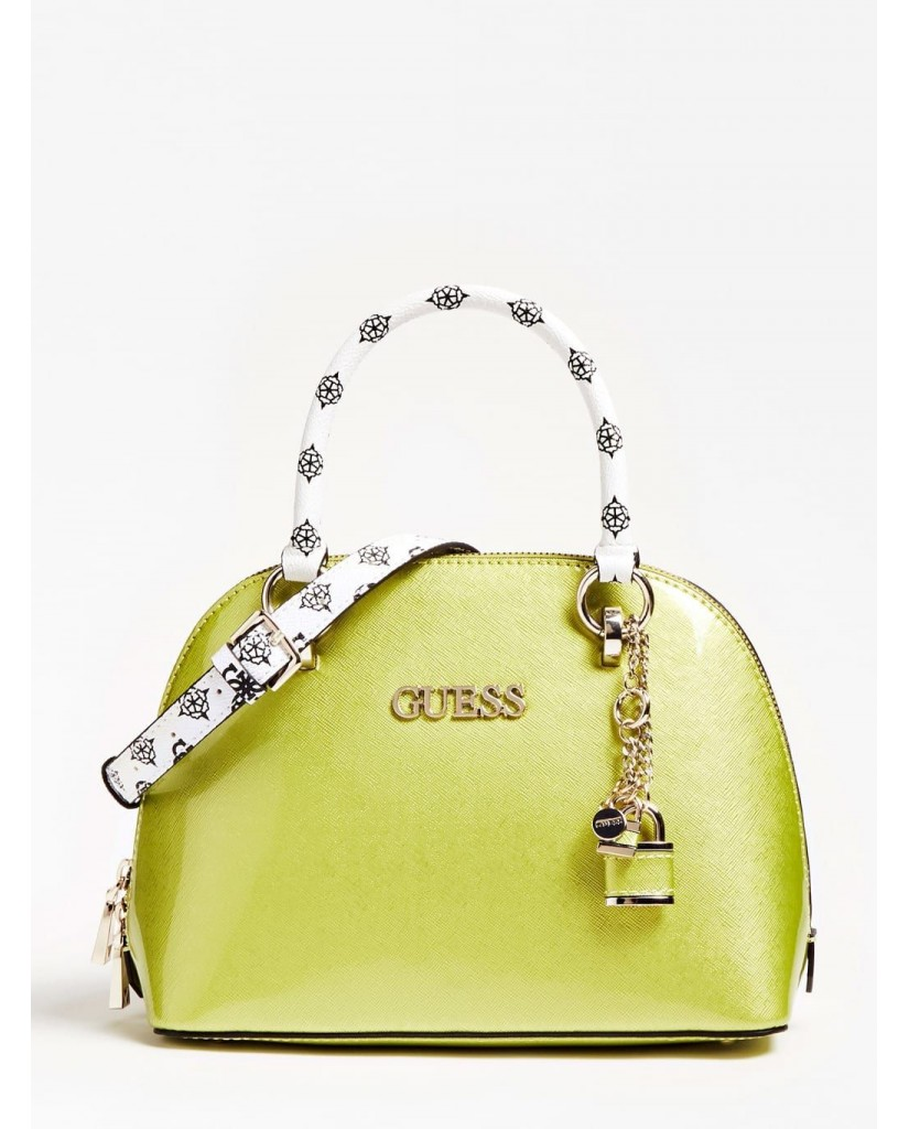 Guess Borse   South bay dome satchel Donna Giallo Fashion