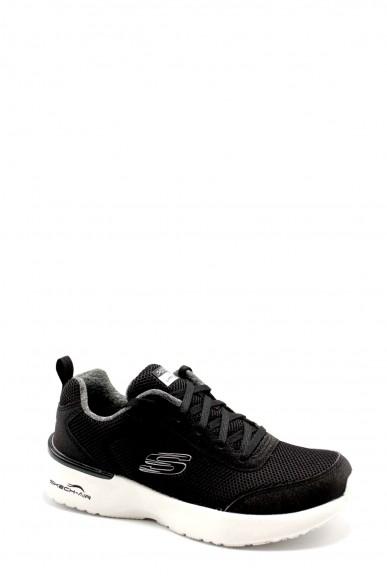 Skechers Sneakers F.gomma 36-41 12947 Donna Nero Casual
