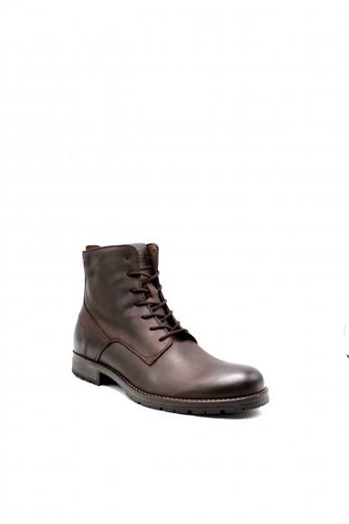 Jackejones Stivaletti   Jfworca leather brown stone 19 Uomo Marrone Fashion