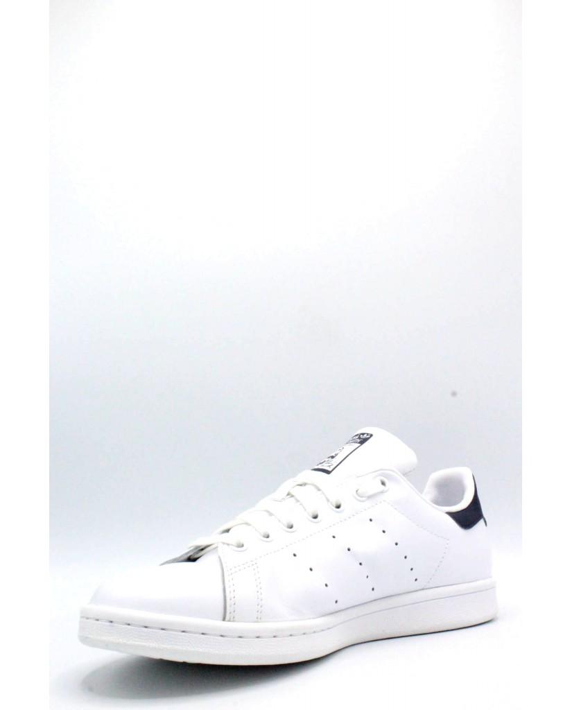 Adidas Sneakers F.gomma 39/46 stan smith Uomo Bianco-blu Sportivo