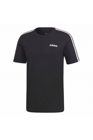 Adidas T-shirt   E 3s tee            black/white Uomo Nero Sportivo
