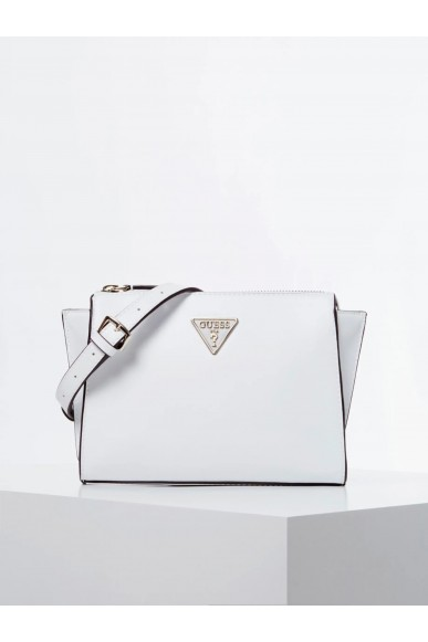 Guess Tracolle   Tangey mini crossbody top zip Donna Bianco Fashion