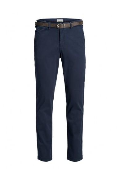 Jackejones Pantaloni   Jjiroy jjjames sa navy noos Uomo Blu Fashion
