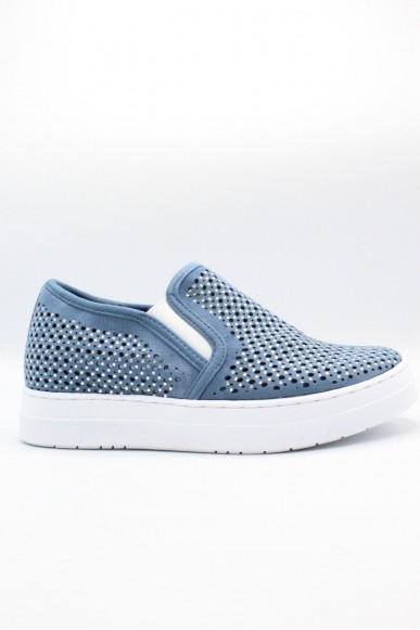Mercante dei fiori Slip-on F.gomma 35/41 Donna Jeans Fashion