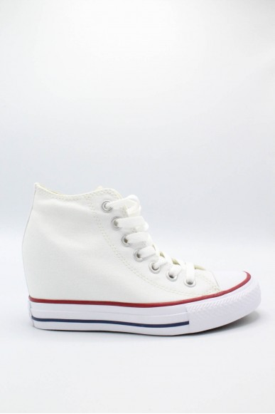 Converse Sneakers F.gomma 35/41 chuck taylors lux Donna Bianco Sportivo