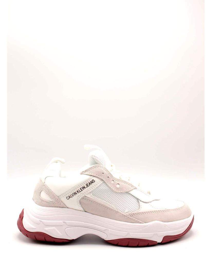 Calvin klein Sneakers F.gomma Donna Bianco Fashion