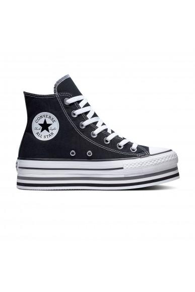 Converse Sneakers F.gomma Ctas eva lift h Donna Nero Fashion
