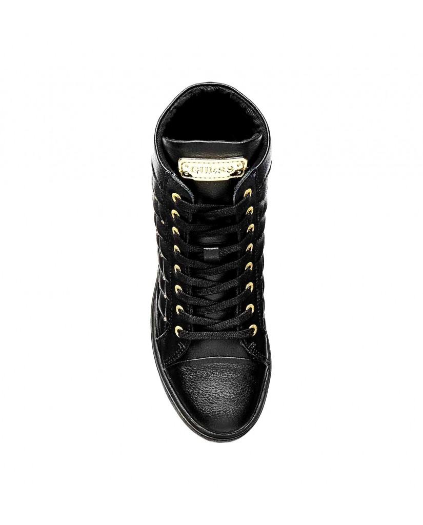 Guess Sneakers F.gomma Furr Donna Nero Fashion