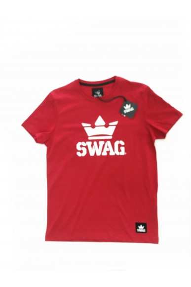 Swag T-shirt Xs-xl Unisex Rosso