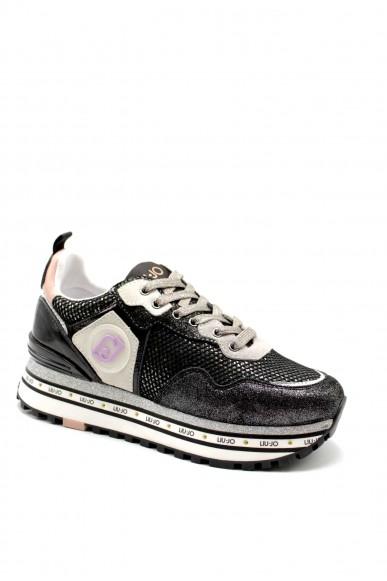 Liu.jo Sneakers F.gomma Liujo maxi wonder 1 - sneaker grey Donna Nero Fashion