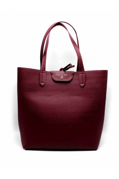 Patrizia pepe Borse - Fall winter 18 reversibile Donna Rosso-rosa Fashion