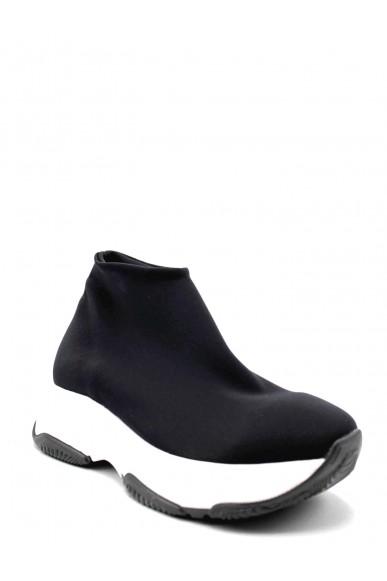 Nicole Sneakers F.gomma Donna Nero Fashion