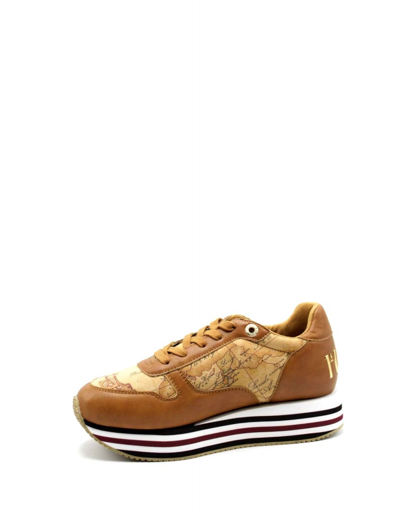 1^classe  Sneakers F.gomma Sneakers n0383 Donna Cuoio Fashion