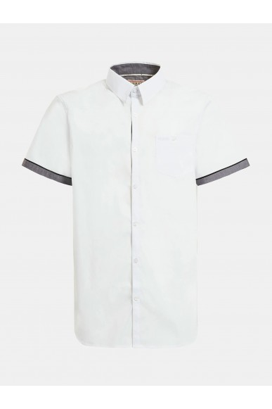 Guess Camicie   Ss sunset shirt Uomo Bianco Fashion